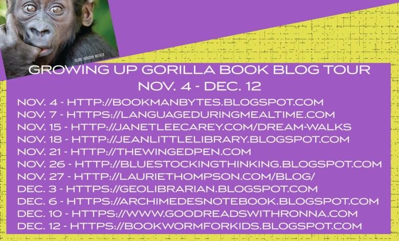 blog tour schedule