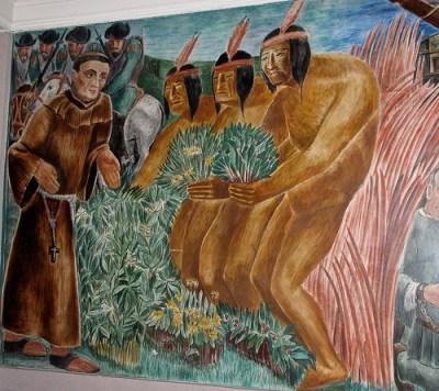 Mural: Bernard Zakheim's History of Medicine in California (1937-39) - UCSF Toland Hall