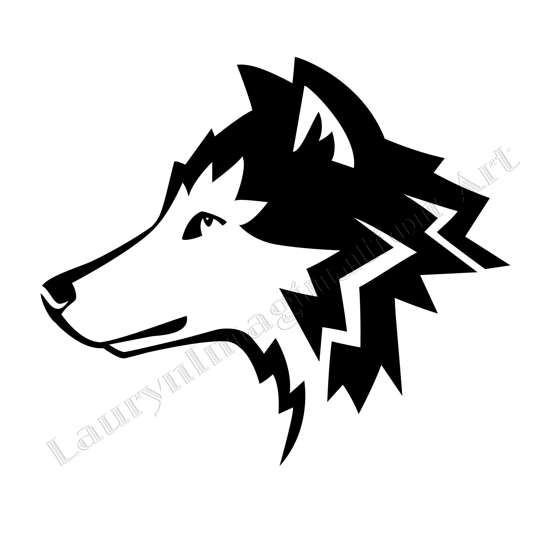 Wolves, Symbols and Black wolves on Pinterest