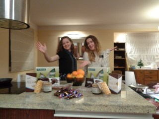 WE got TONS of Chocolate!!