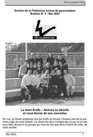 Journal 2002 – Mai