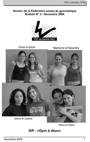 Journal 2004 – Novembre