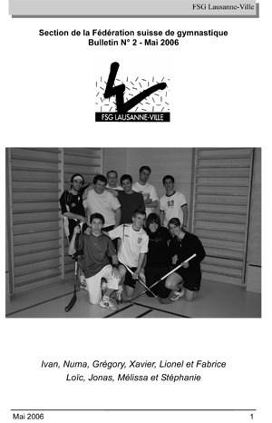 Journal 2006 – Mai