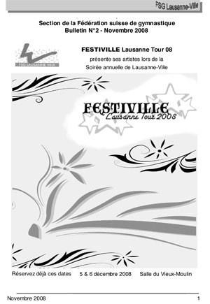 Journal 2008 – Novembre