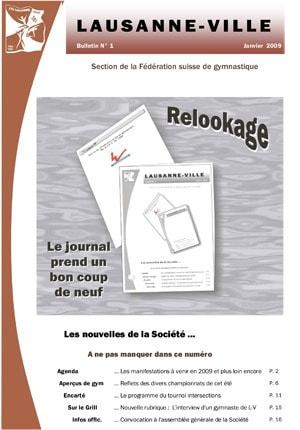 Journal 2009 – Janvier