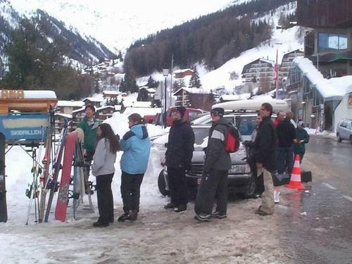 2003 – Week-end à ski des Actifs aux Marécottes (22 et 23 mars)