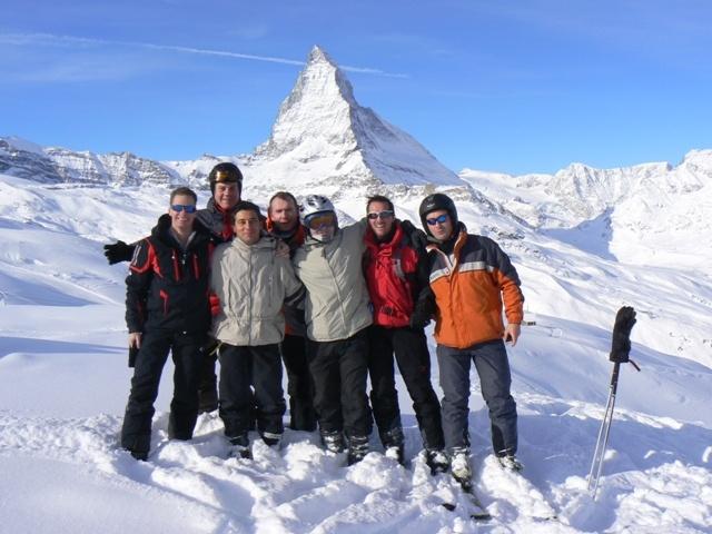 2010 – Week-end à ski des Actifs à Zermatt (4 au 7 février)