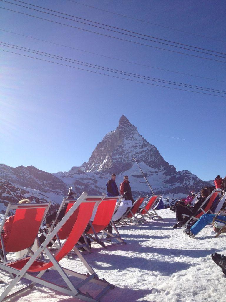 2012 – Week-end à ski du groupe Actifs à Zermatt (1er au 4 mars)