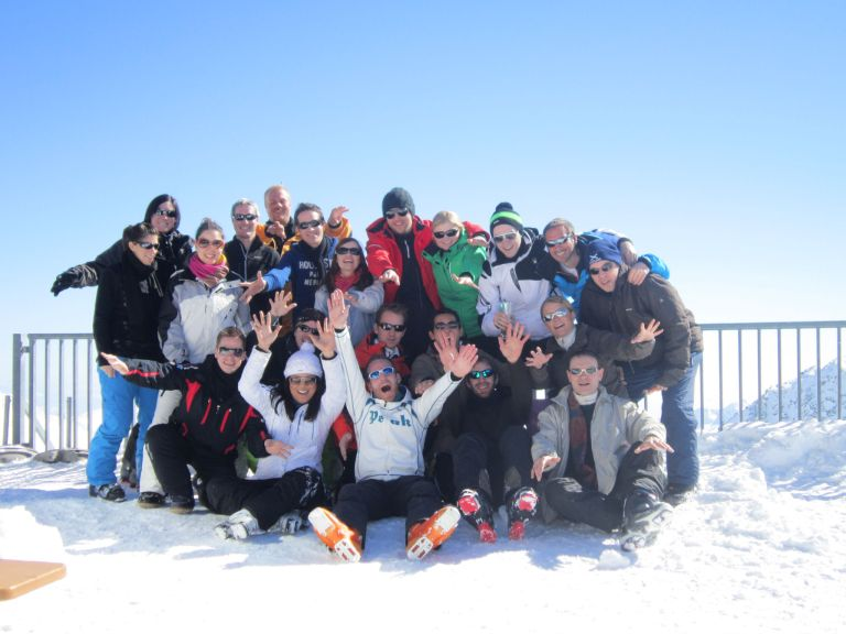 2013 – Week-end à ski du groupe Actifs à Saas-Fee (28 février au 3 mars)