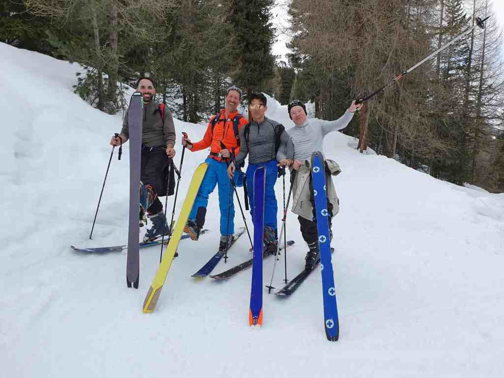 Week-end à ski du groupe Actifs