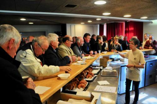 2019 - Assemblée de l'Union Fédérale des Gymnastes Vétérans, groupe vaudois ¦ Accueil (28 avril)