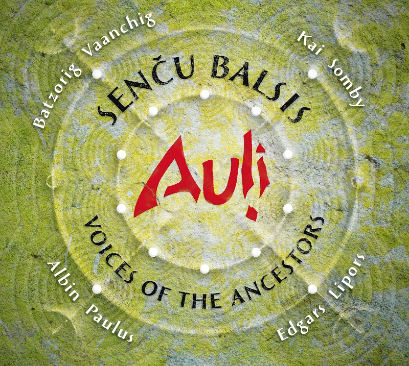 Voices of the Ancestors – new album by Auļi together with strong male voices from around the world