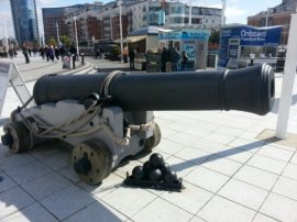 Cannons in Portsmouth