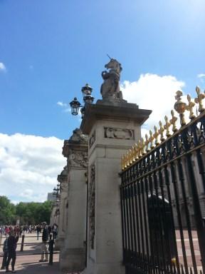 The unicorn on the gates
