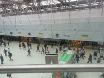 Watching the world go by at Waterloo station