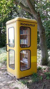 Bücherzelle am Fleesensee