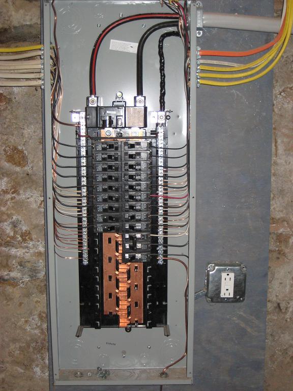 Square D 200 Amp Breaker Box