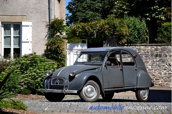 citro n 2cv azam enac 1965 l 39 automobile ancienne. Black Bedroom Furniture Sets. Home Design Ideas