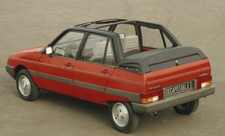 citro n visa d capotable heuliez 1983 1985 l 39 automobile ancienne. Black Bedroom Furniture Sets. Home Design Ideas