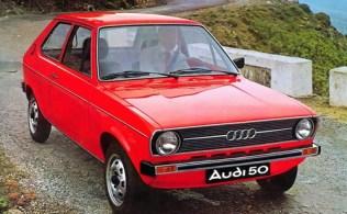 Audi 50 (1974-1978)   l'automobile ancienne
