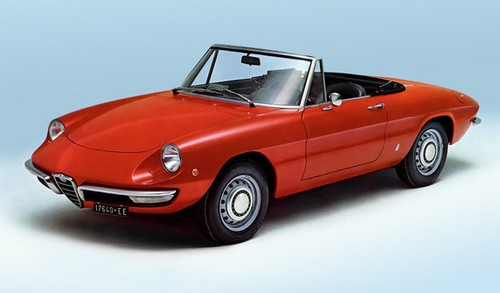 alfa romeo spider coda longa 1966 1969 l 39 automobile. Black Bedroom Furniture Sets. Home Design Ideas