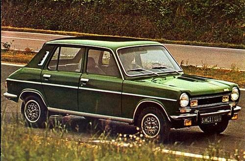 simca 1100 ti 1973 1979 l 39 automobile ancienne. Black Bedroom Furniture Sets. Home Design Ideas