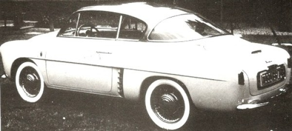 renault 4cv autobleu  1953