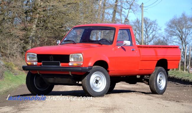peugeot 504 pick up dangel 1983 l 39 automobile ancienne. Black Bedroom Furniture Sets. Home Design Ideas