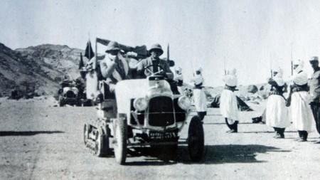 """Résultat de recherche d'images pour """"7 janvier 1923: arrivée de la croisière des sables"""""""