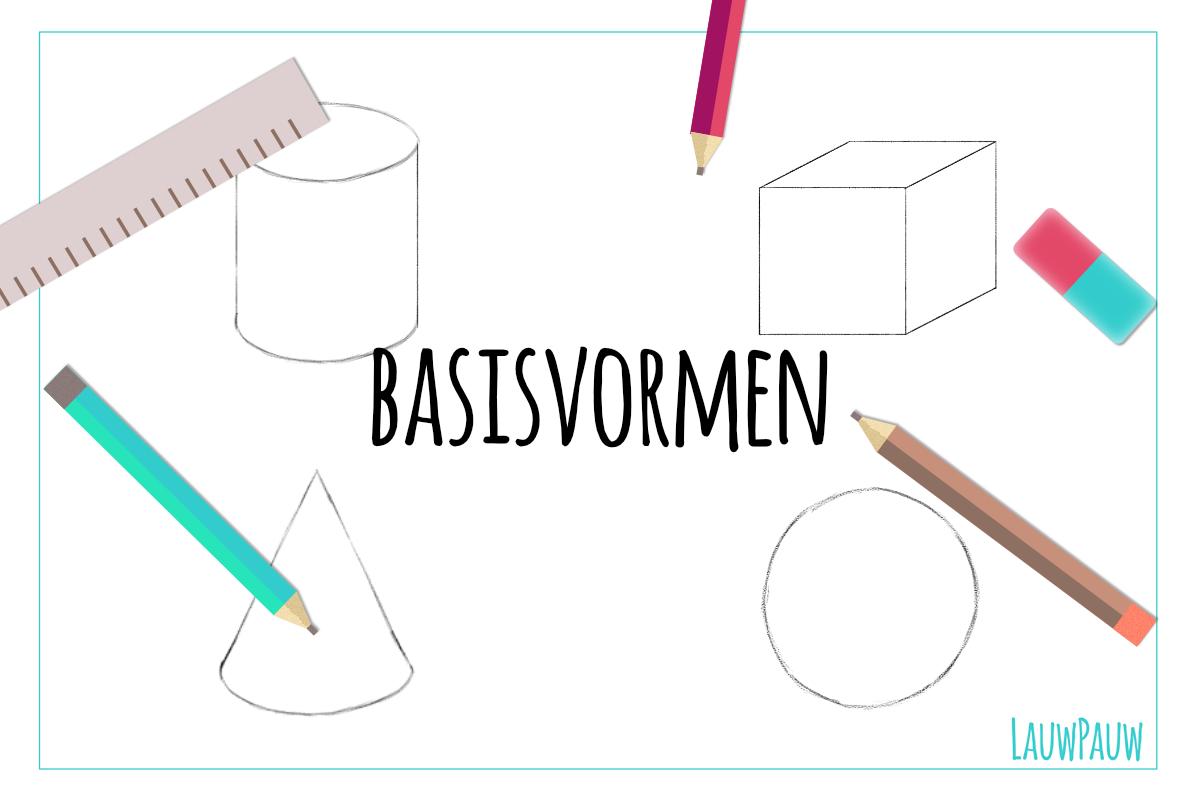 Hoe teken je basisvormen?