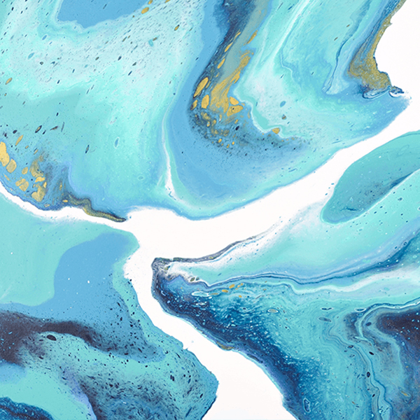 Island Universe – large painting, acrylic on canvas