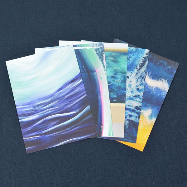 Kunstkaarten ansichtkaarten set 1