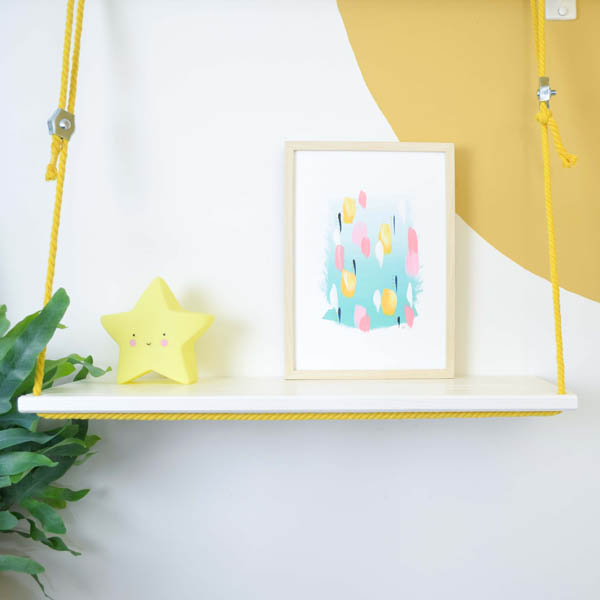 Hold On To Your Balloon And Fly With Me – A4 kunstprint