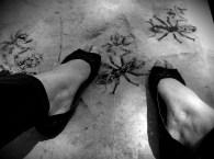 Así que en casa -ante mi negativa de deshacerme de él- todos desarrollamos un sorprendente reflejo cada que bajábamos los pies y sentíamos algo peludo y tibio. Todos fuimos mordidos en algún momento.