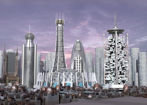 Breathtaking Future City Concept Art (5)