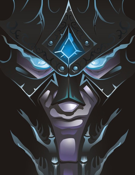 Death Knight Illustration Artwork