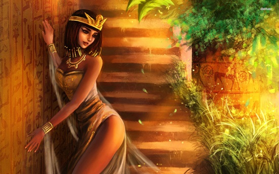 Gorgeous Cleopatra the Great images in Digital Art (3)