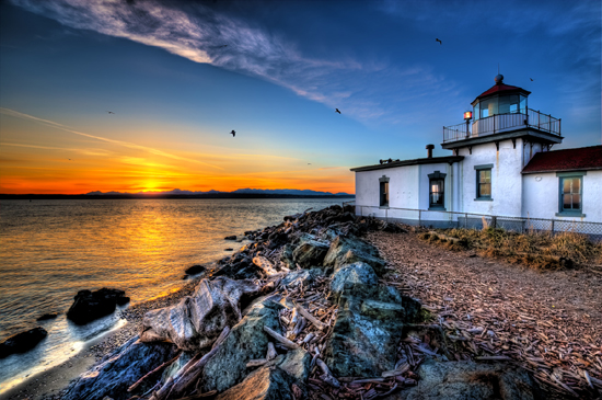 Lighthouse Landscape Photography