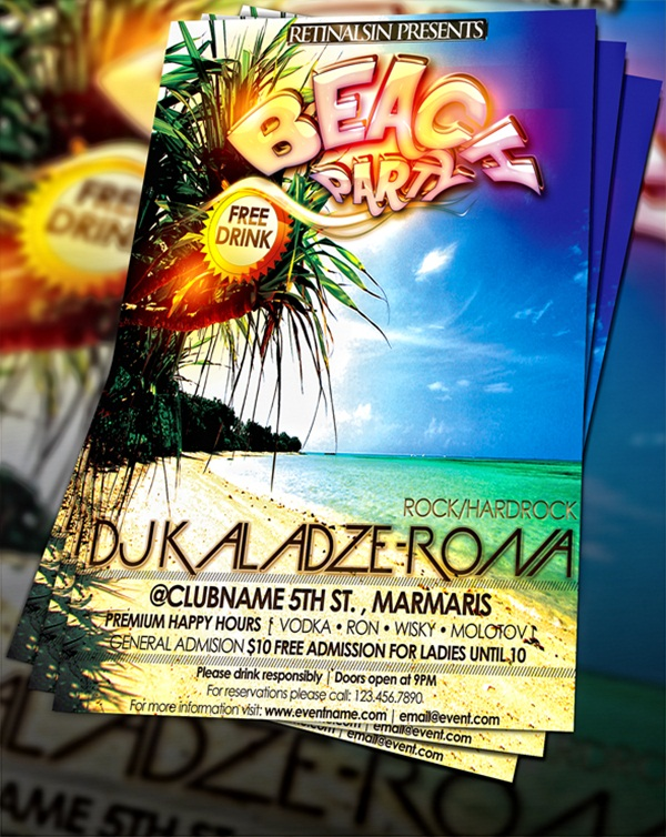 Amazing Party Poster Designs13