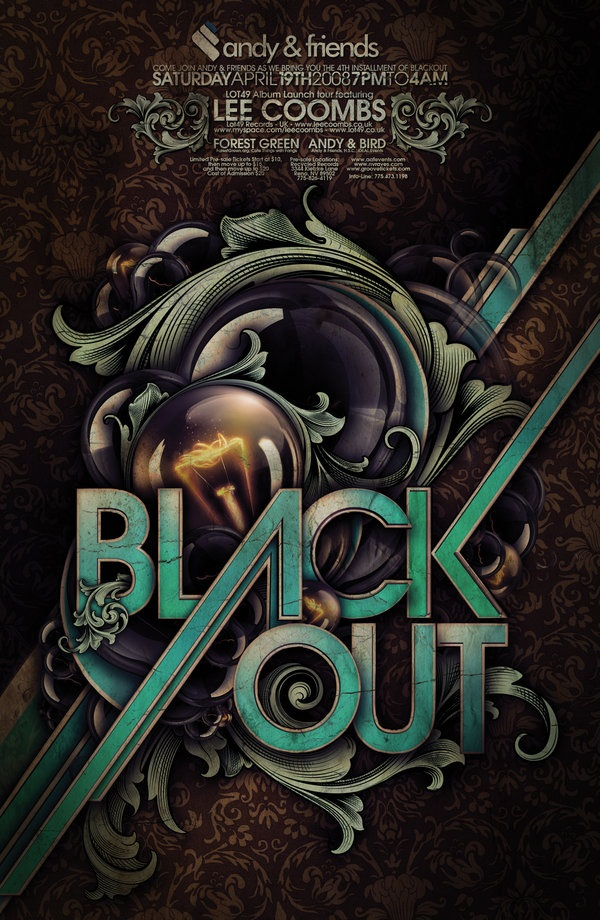 Amazing Party Poster Designs7