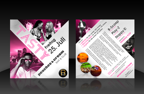 Inspirational Double Sided Flyer Designs