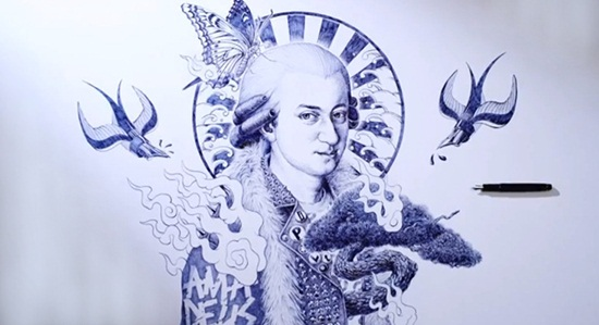 Ballpoint Pen Drawings & Sketches (10)