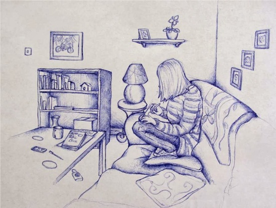 Ballpoint Pen Drawings & Sketches (4)