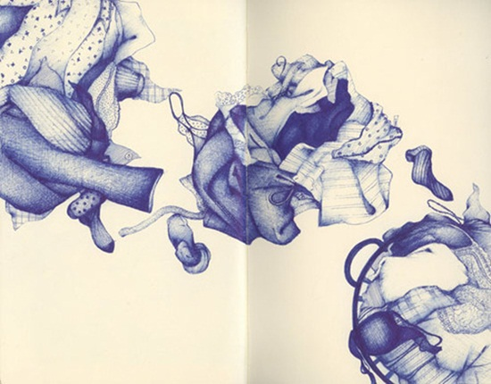 Ballpoint Pen Drawings & Sketches (7)