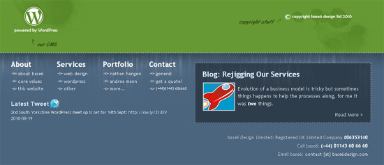 Creative Footer Designs