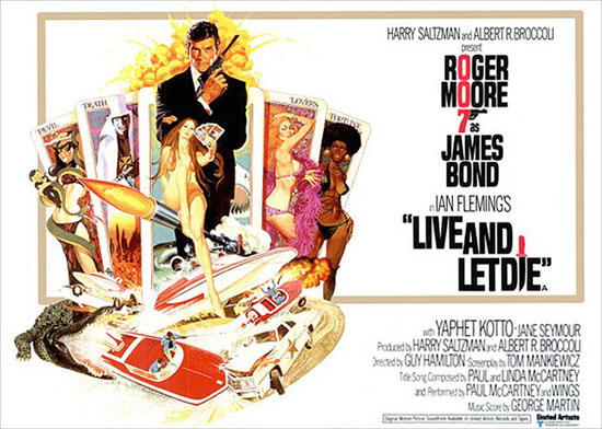 James Bond 007 Movie Posters
