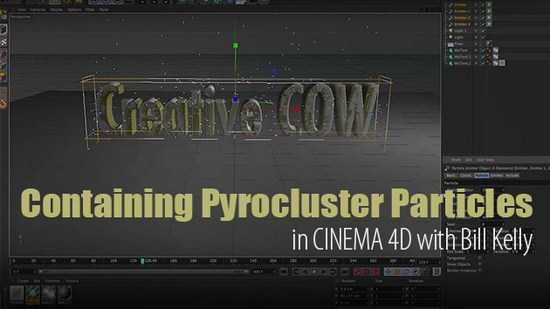 tutorial: containing pyrocluster particles within an object