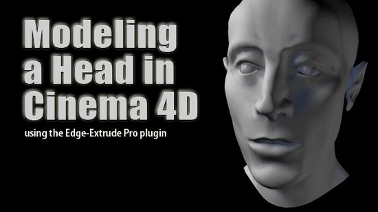 tutorial: modeling a head in C4D
