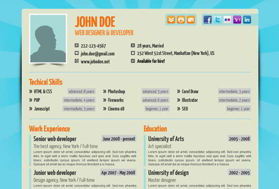 Your No1 Online wp Resume