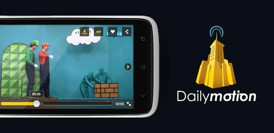 Dailymotion Video Stream free android app
